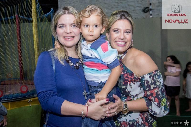 Karisia Ribeiro, Matheus Ribeiro e Ana Claudia Aguiar
