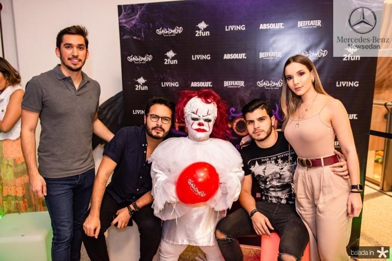 Bruno Parente, Vinicius Machado, Juvencio Viana e Ana Gregory