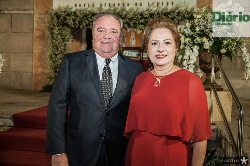 Chiquinho e Cristina Aragão