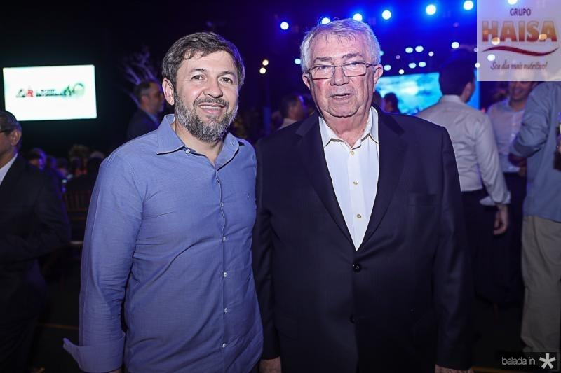 Elcio Batista e Roberto Macedo