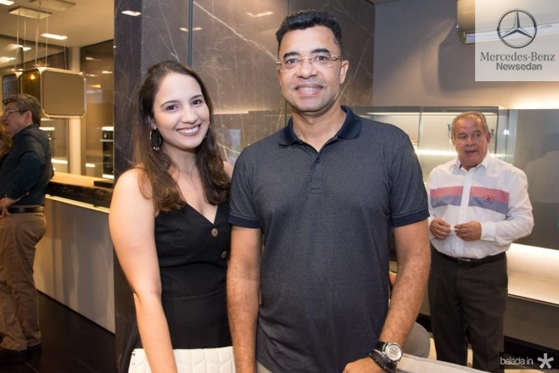 Mirela Barbosa e Erasmo Pereira