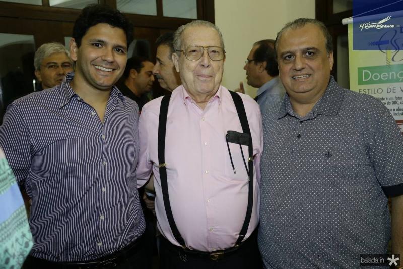 Dudu Camara, Edson Ventura e Max Camara