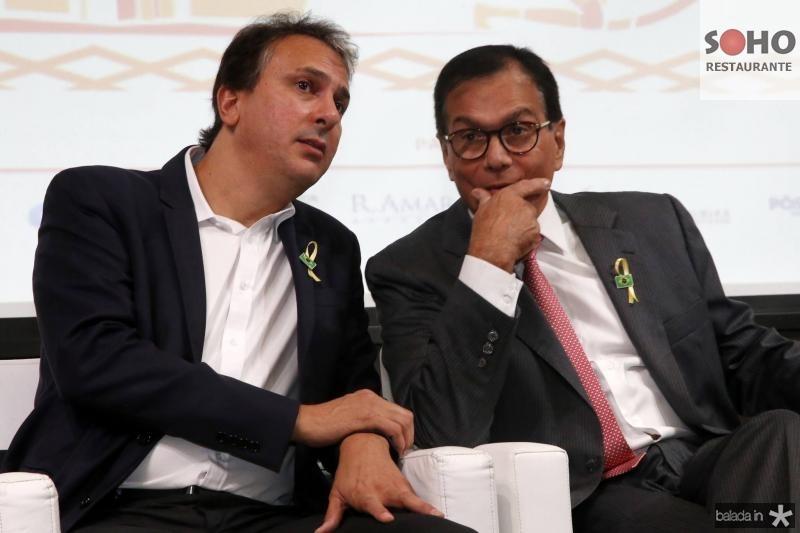 Camilo Santana e Beto Studart
