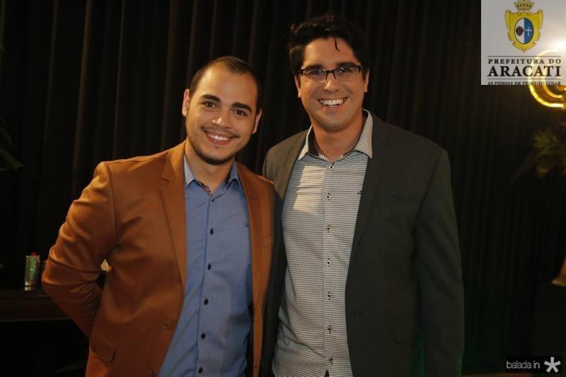 Fritsney Negreiros e Almir Gadelha