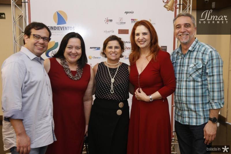 Rafael Bezerra, Norma Zelia, Micheline Ragasso, Enid Camara e Mauro Costa