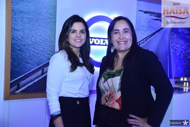 Livia Medeiros e Alessandra Jocs
