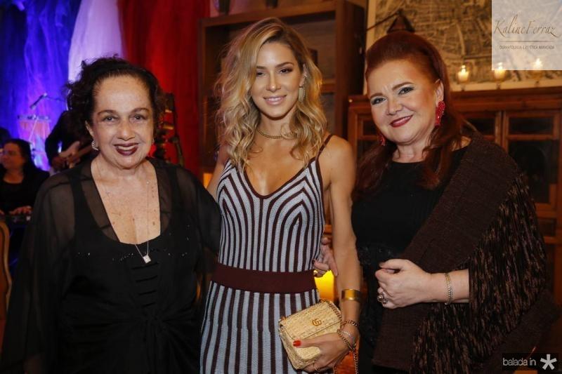 Tania Leitao, Bruna Waleska e Claudia Reboucas