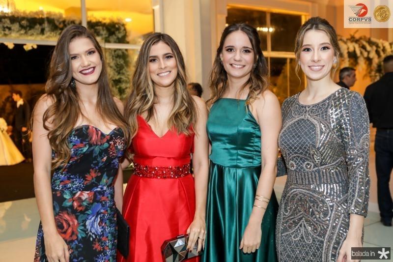 Clara Carvalho, Rebeca Torres, Marina Leal e Lara Lecyr