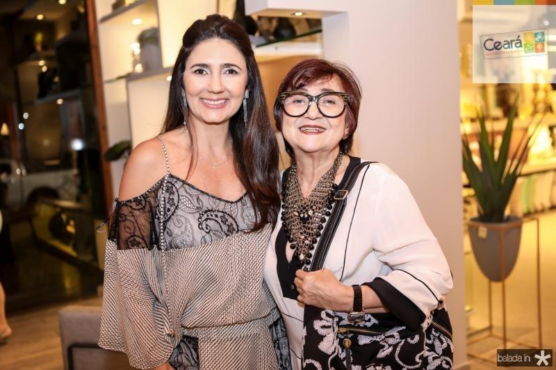 Luciana Cidrao e Tereza Holanda