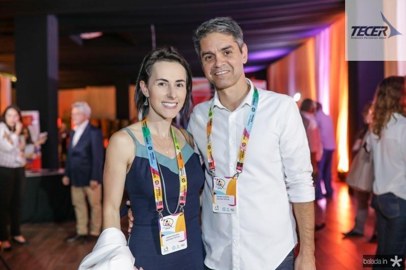 Airam Pagliosa e Roberio Almeida