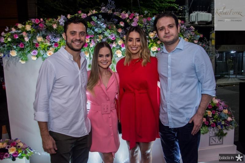 Bruno Bastos, Lara Dantas, Nathalia Ximenes e Rafael Lobo