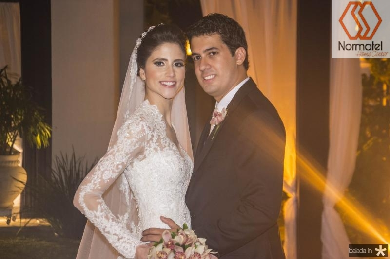 Manoela Gladstone e Artur Bezerra
