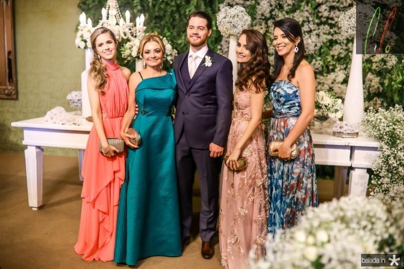 Julia, Ana Cristina, Luiz, Beariz e Vanessa Camelo