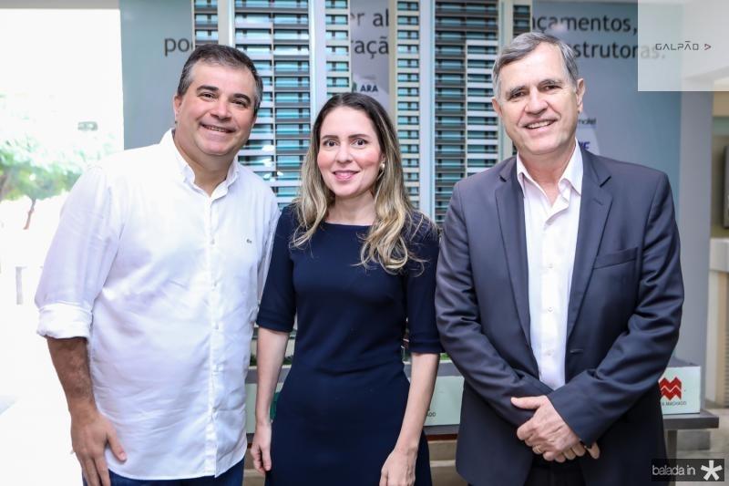Ricardo Bezerra, Agueda Muniz e Apollo Sherer