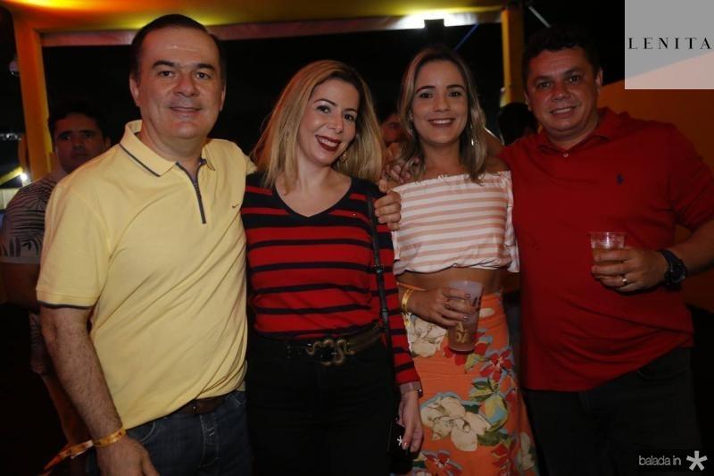Ronaldo e Lilia Aragao, Amanda e Hamilton Silveira