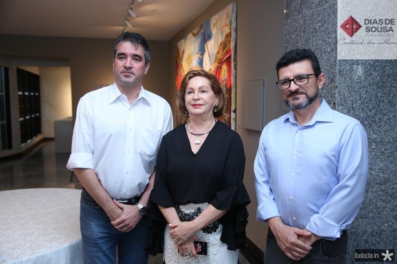 José Maria Gondim, Fatima Veras e Henrique Sá