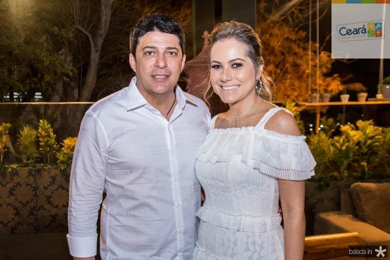 Marcelo Sombra e Talyzie Mihaliuc