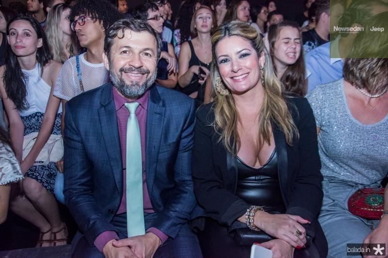 Elcio Batista e Tatiana Luna