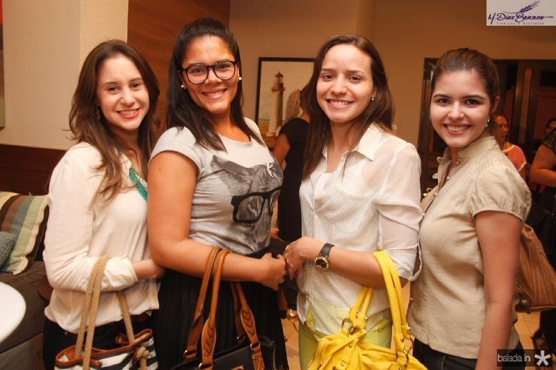 Camila Bezerra,Larissa Soares,Nathalia Santiago e Tayene Parente