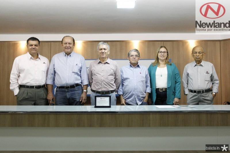 Odmar Feitosa, Rafael Leal, Clovis Nogueira, Manuel Rubens, Airtes Cruz e Argeu Monteiro
