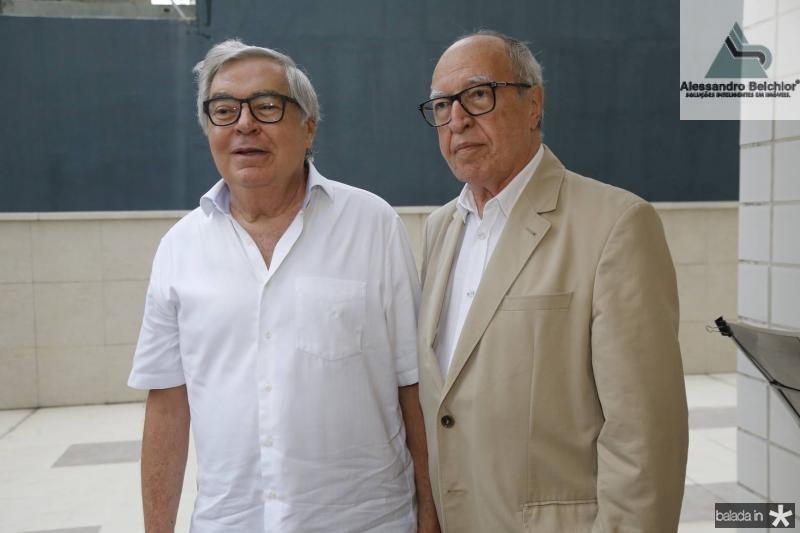 Roberto Farias e Lucio Alcantara
