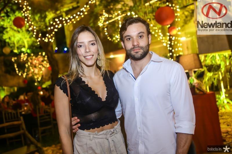 Raiane Maranha e Emanoel Gurgel