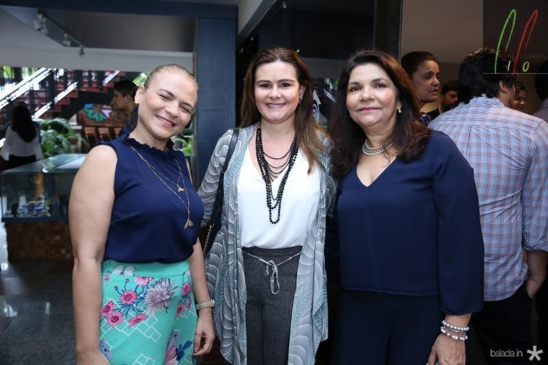 Michele Onorio,Ivana Bezerra e Celina Castro Alves