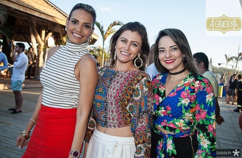 Dailene Vasconcelos, Isabel Lourenço e Ludimila Feitosa