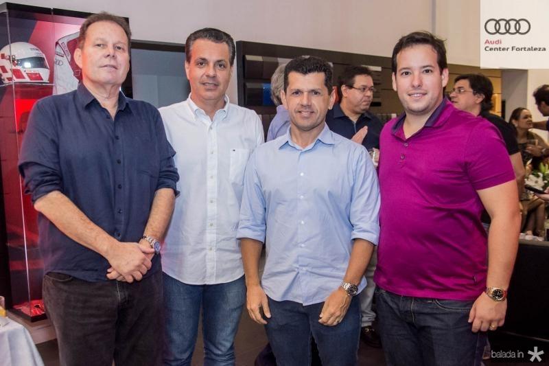 Julio Ventura, Leonardo Dalolio, Erick Vasconcelos e Gabriel Joca