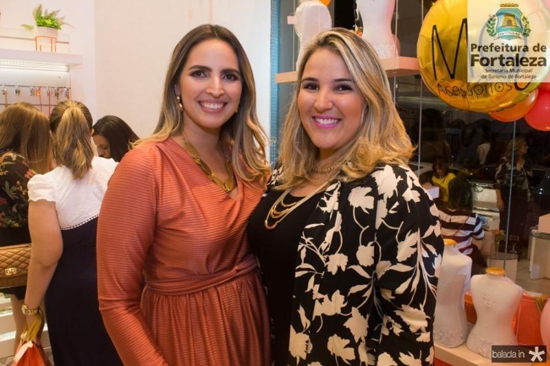 Mariana Queiroz e Patricia Fernandes