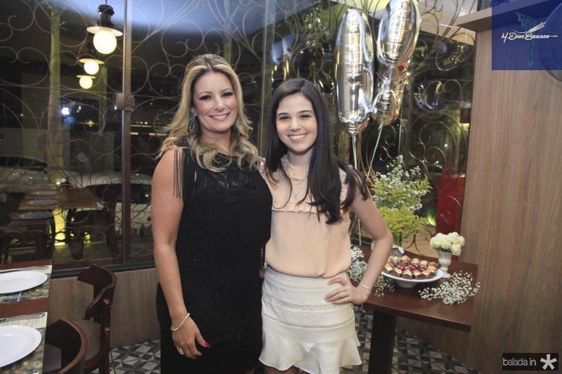 Tatiana Luna e Beatrice Vasconcelos