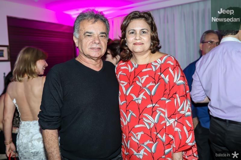 Fernando Barroso e Marcia Cavalcante