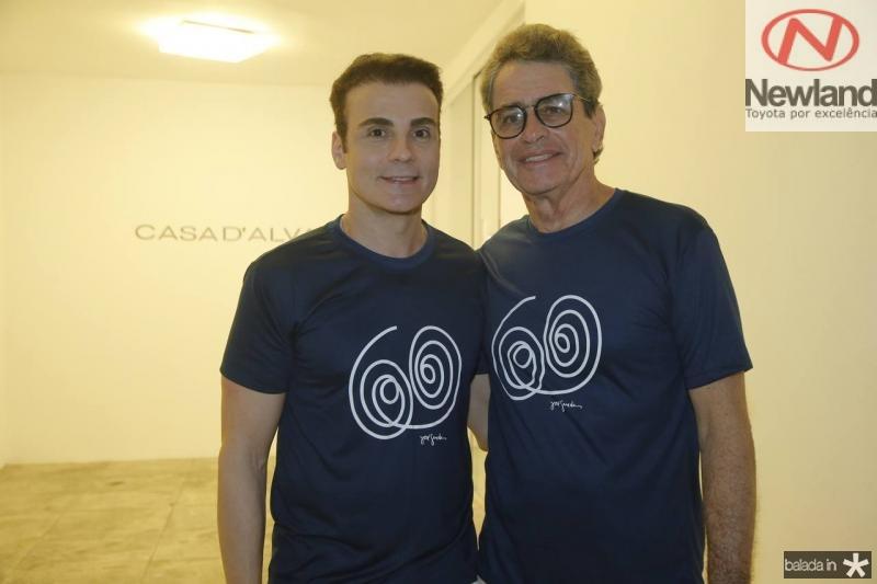 Rodrigo Maia e Cesar Fiuza