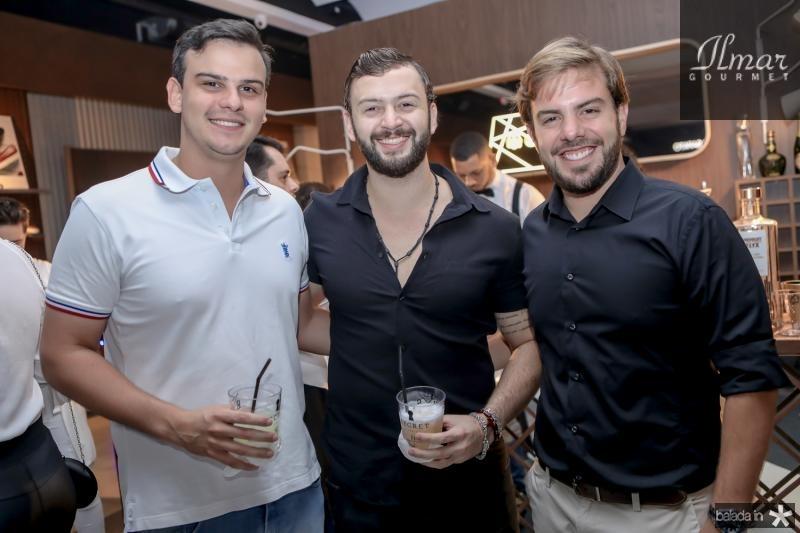 Hebert Farias, Erasmo Mendonça e Claudio Nelson