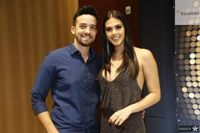 Mateus Bacelar e Morgana Carlos