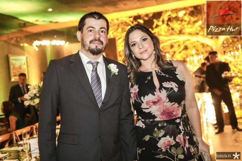 Sergio Bandeira e Alessandra Carvalho
