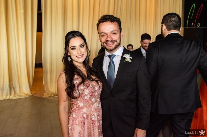 Livia Alencar e Adalberto Delgado