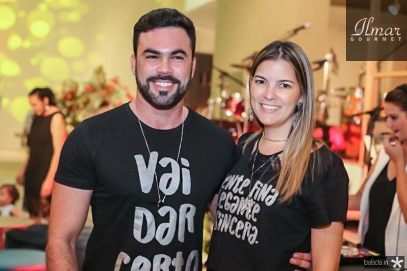 Cesar Fiuza e Lurdinha Brasil