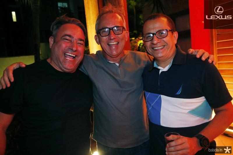Jose Walter Mannarino, Cesar Gioseph e Francisco Barbosa