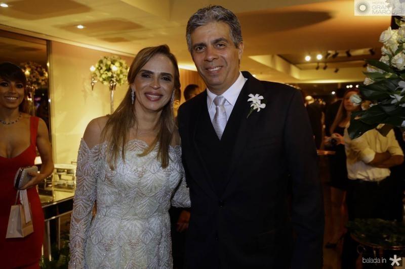 Sonia Ximenes e Marcos Tavares