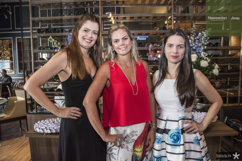 Lucia Fialho, Layla Fujita e Lilia Sales