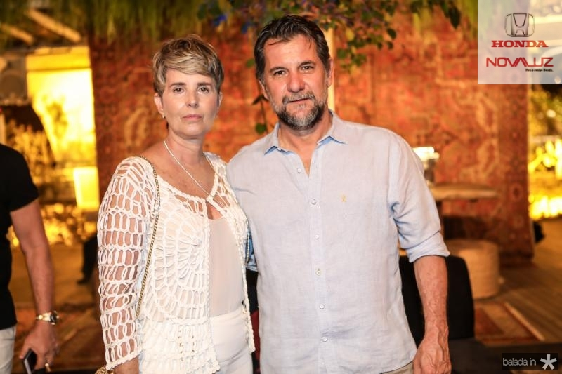 Delfina Rocha e Andre Escalazari