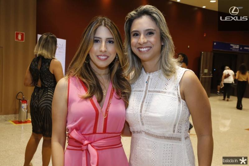 Tayra Romcy e Tatiana Barreira