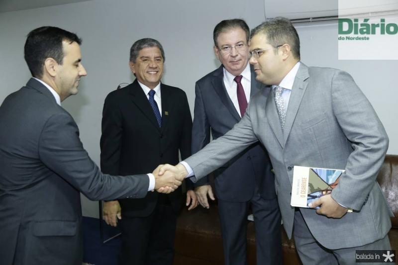 Aluisio e Sampaio Filho, Ricardo Cavalcante e Edson Queiroz Neto