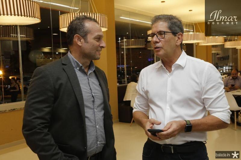 Marcio Falcao e Severino Neto