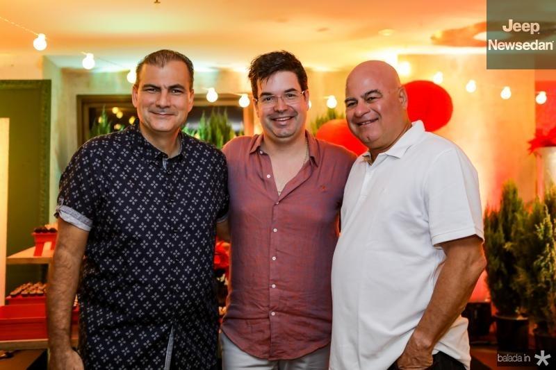 Alexandre Sales, Andre Pires e Liciano Cavalcante