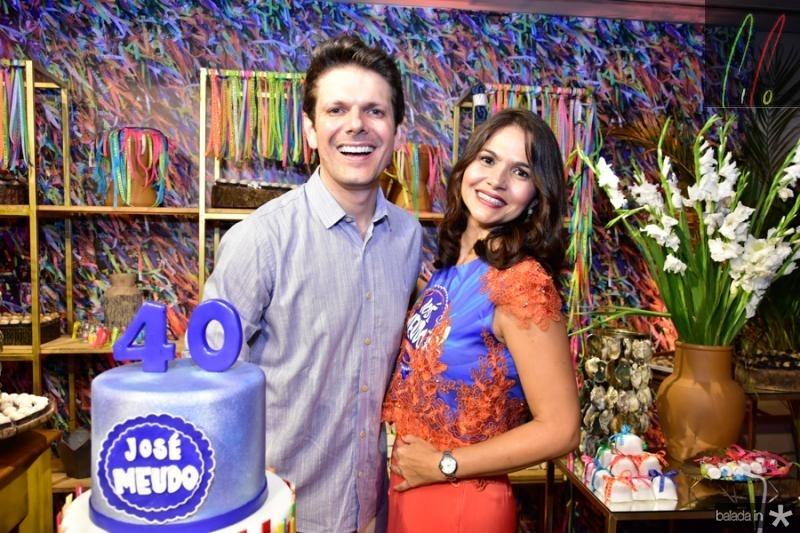 Jose Meudo e Manoela Ponte