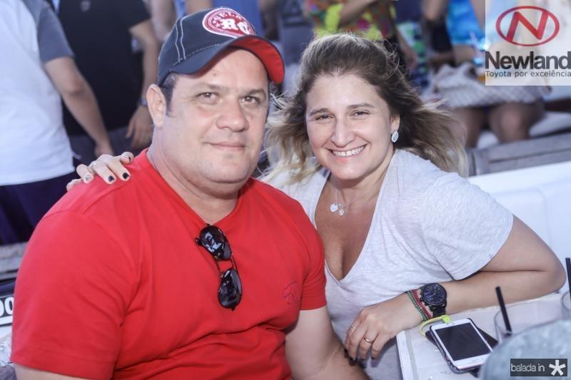 Adriano Assunçao e Karina Bezerra