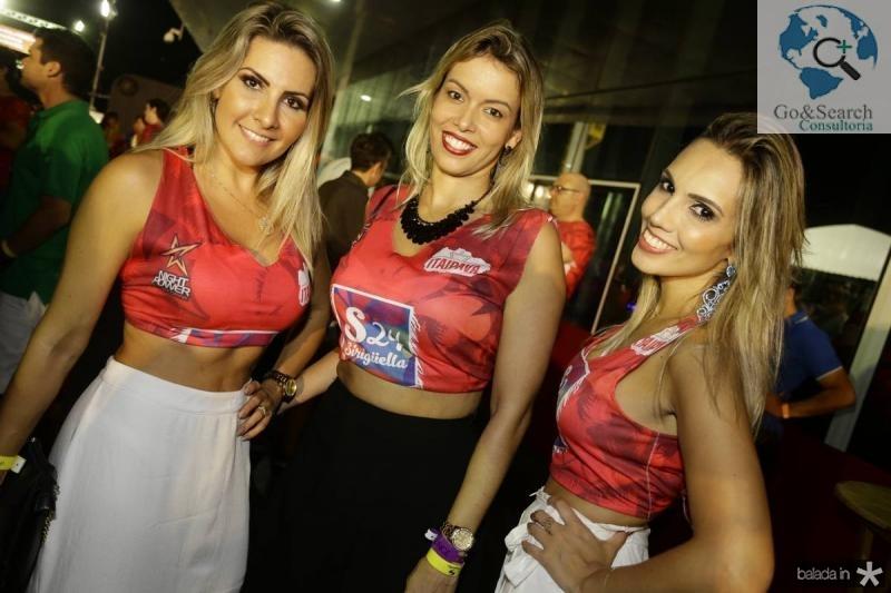 Liz Carvalho, Christiane Matos e Gisele Monteiro