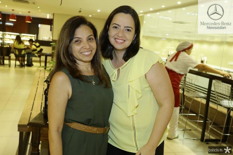 Claudia Marques e Camila Andrade